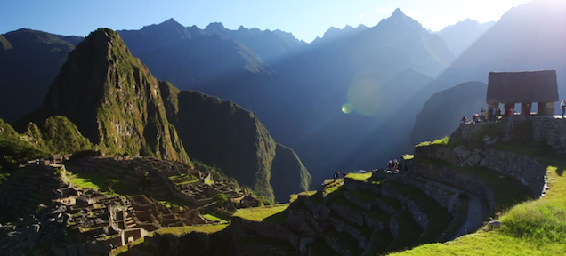 Video Shows How Stunningly Beautiful Machu Picchu is in Beautiful 4K Detail