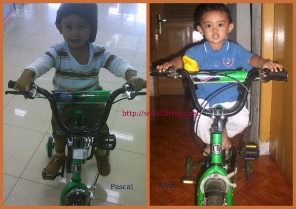 Naik Sepeda Roda 2