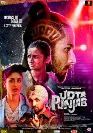 Poster of UdtUdta Punjab 2016 Full Hindi Movie Download BRRip 720p 1gb