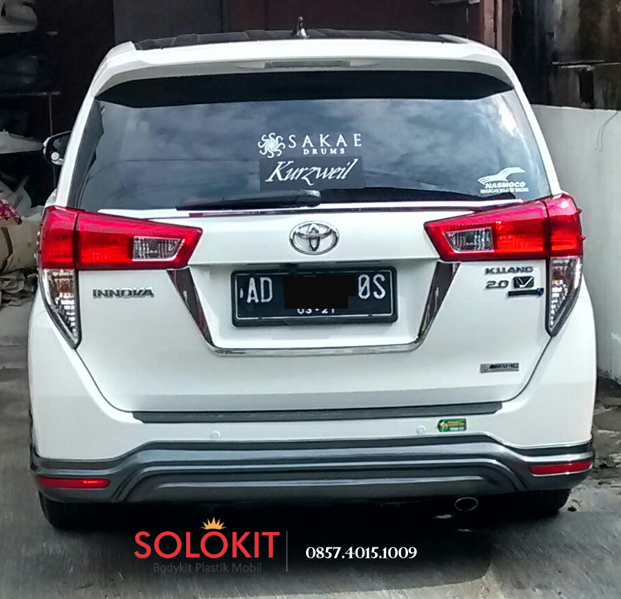 bodykit all new kijang innova grand avanza vs xpander plastik reborn 2016 solo