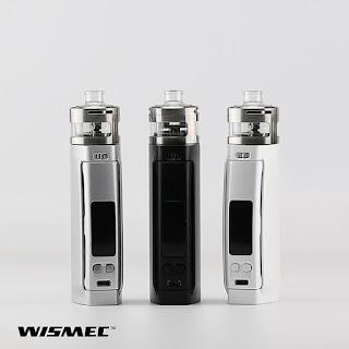 Inde duo atomizer, perfect match with Wismec Presa TC100W!