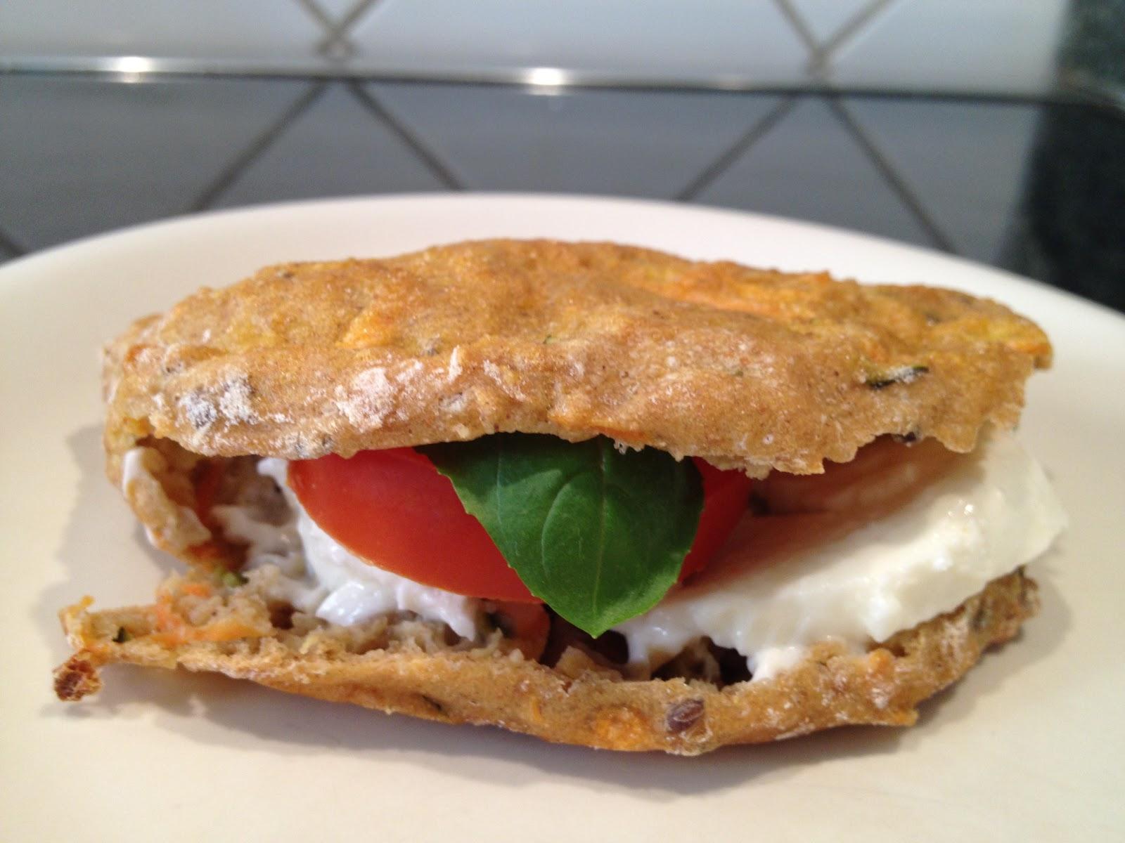 Foodies N' Fashion: Squash- og hørfrø pita