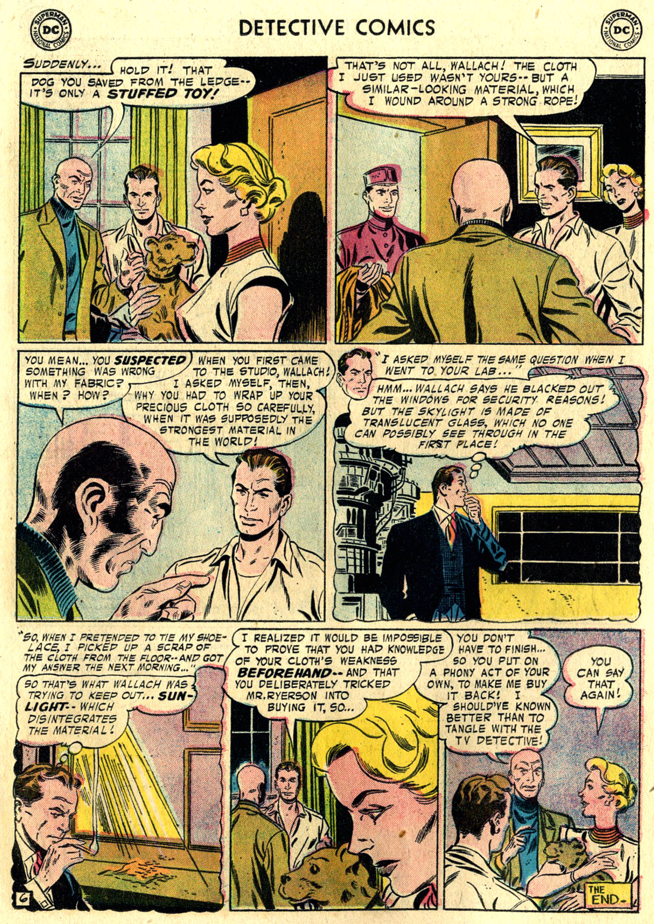 Read online Detective Comics (1937) comic -  Issue #248 - 22