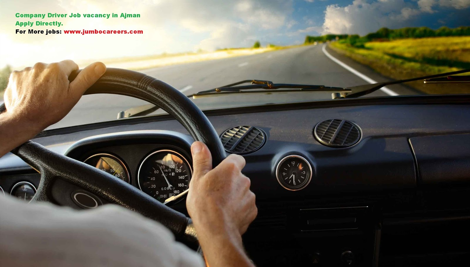 Light Vehicle Driver Job Vacancy in Ajman UAE - Urgent Joining
