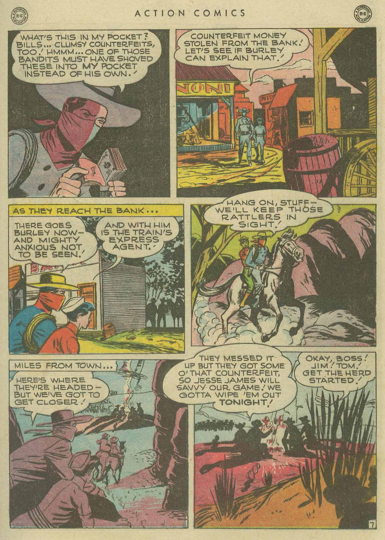 Read online Action Comics (1938) comic -  Issue #104 - 37