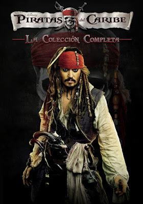 Pirates Of The Caribbean Colección DVD R1 NTSC Latino
