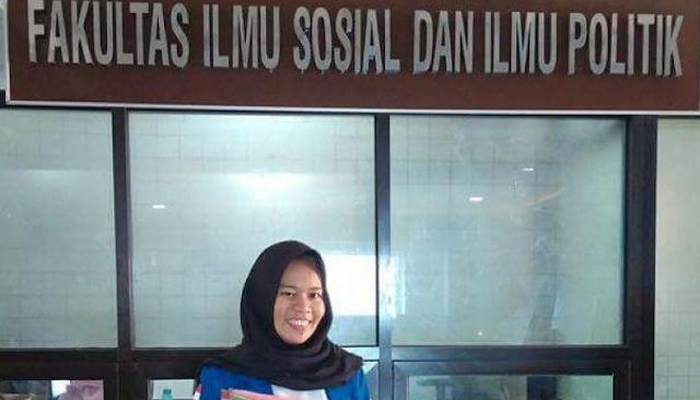 Mahasiswi asal Unismuh Makassar, Siap Ikuti Kongres Pemimpin Muda Sulawesi Selatan