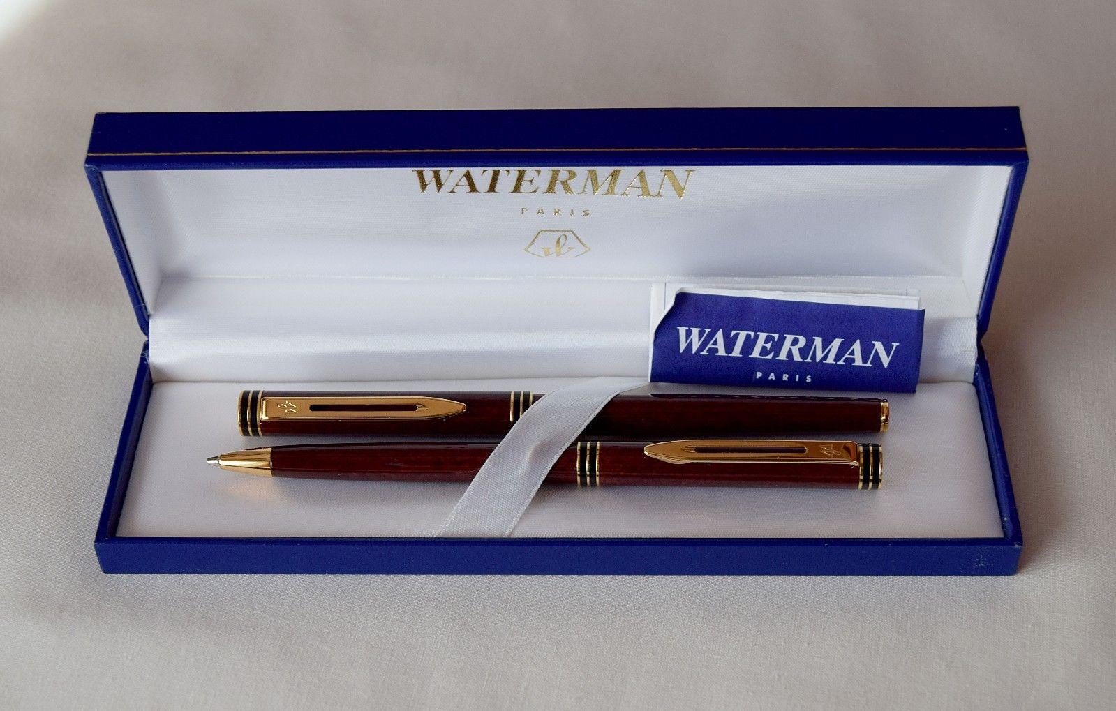 Fountain identification waterman pen Waterman Identification