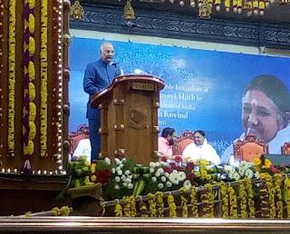 President launches Mata Amritanandamayi Math Project Jeevamritham in Kerala