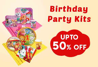 Kids Birthday Party Kits Deal