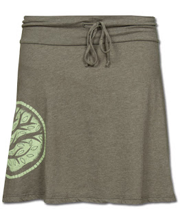 SOL397 lg - Earth Medallion Yoga Skirt and Tank
