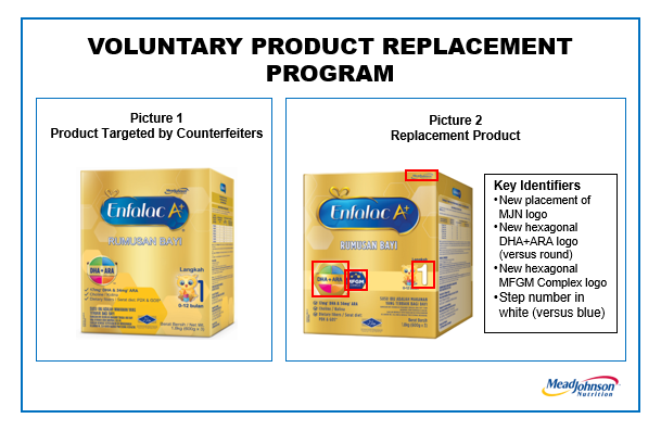 Free Enfalac A+ Step 1 Infant Formula Product Replacement