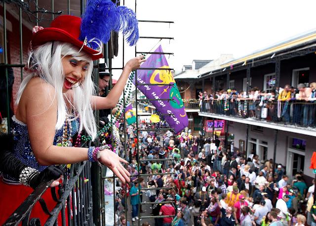 El Mardi Gras el Carnaval de Nueva Orleans