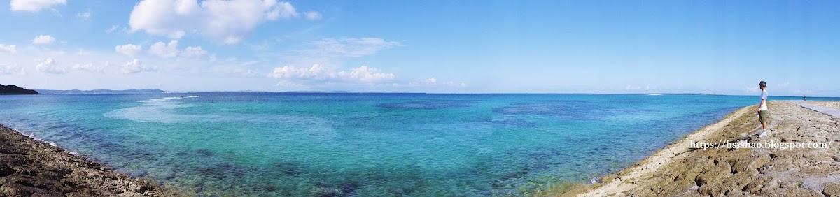 沖繩-景點-安座真SanSan海灘-自由行-旅遊-Okinawa-あざまサンサンビーチ-azama-sansan-beach