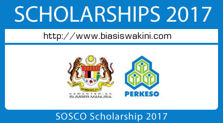 SOSCO Scholarship 2017