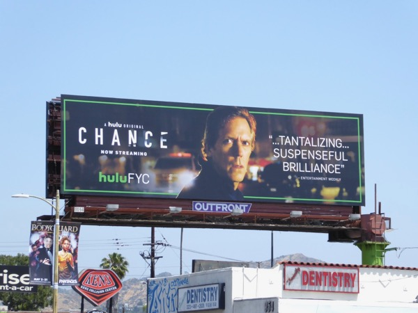 Chance season 1 Emmy billboard