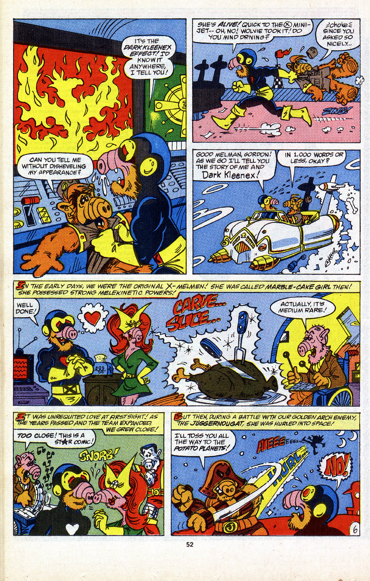 Read online ALF comic -  Issue #2 - 53