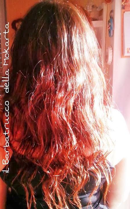 Con il tempo infatti... i capelli son passati da un bellissimo rosso bed89331d1dd