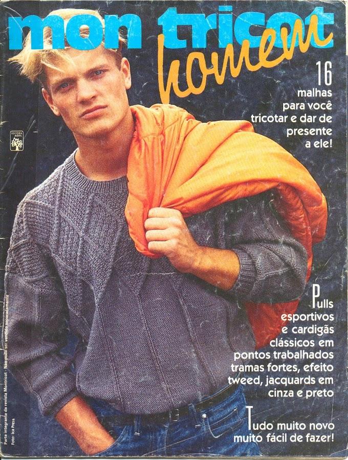 Revista Mon Tricot Homen