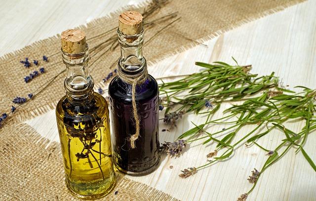 El aceite de lavanda crea una capa protectora contra los insectos