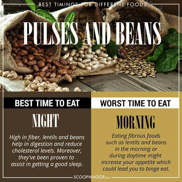PULSES AND BEANS - Eat Time at NIGHT