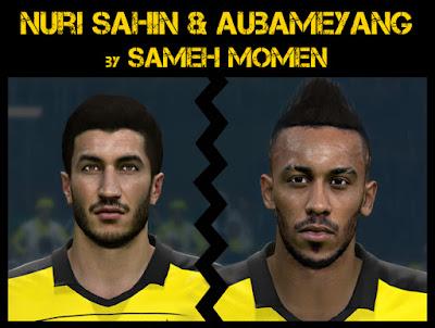 Nuri Sahin & Aubameyang by Sameh Momen