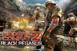 game modern combat 2