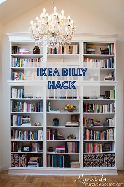 IKEA BILLY hack - tutorial » beépített könyvespolc - így készült I Manzard9