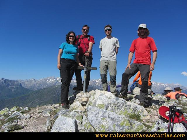 Transcantábrica Tarna-Ponga: Cima del Pozúa