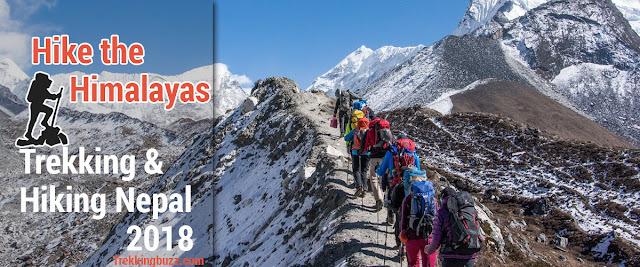 Trekking and Hiking Nepal 2018