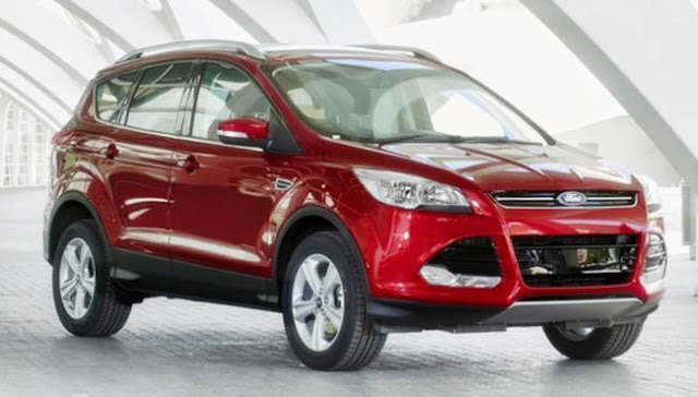 2016 Ford Kuga Facelift UK