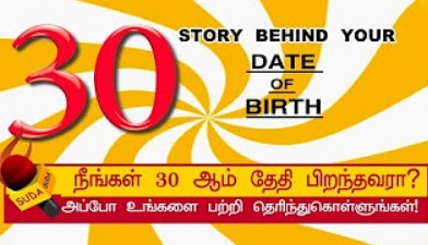 Story behind your date of birth 30