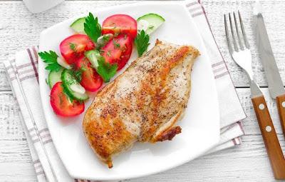 كم سعرة حرارية فى صدور الدجاج