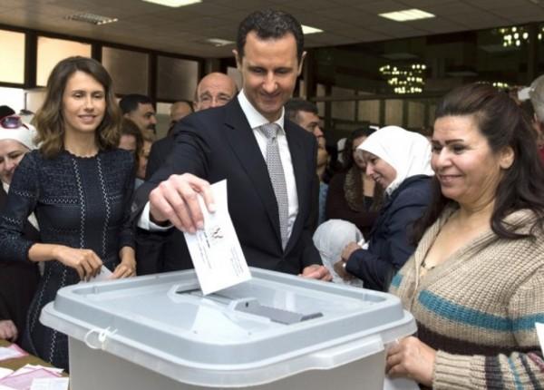 Waduh!! Perang masih Berkecamuk, Assad Malah Langsungkan Pemilu?!