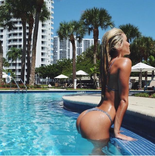Hot girls Cassandre Davis sexy Ronaldo girlfriend 3