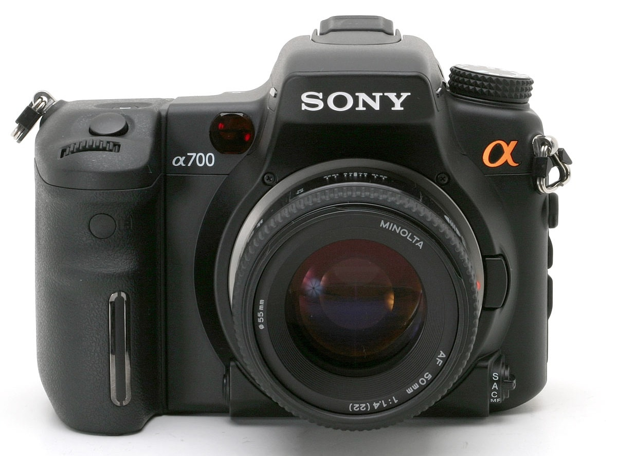 Sony Camera DSLR A700 Camera Firmware and Software Download