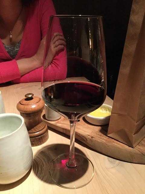 M-Bistro Nieuwpoort red wine