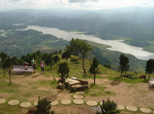 Hình ảnh Núi Lang Biang