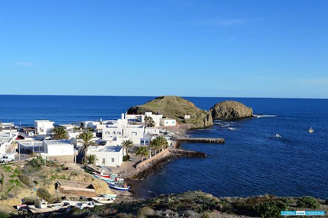 Pueblo de la Isleta del Moro, Cabo de Gata