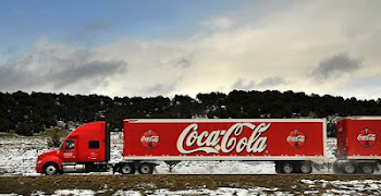 Ryder/Coke Truck in Central Utah
