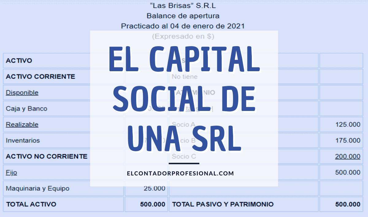 srl capital social