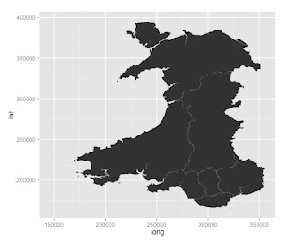 Visualisation and Data: Geomapping Wales
