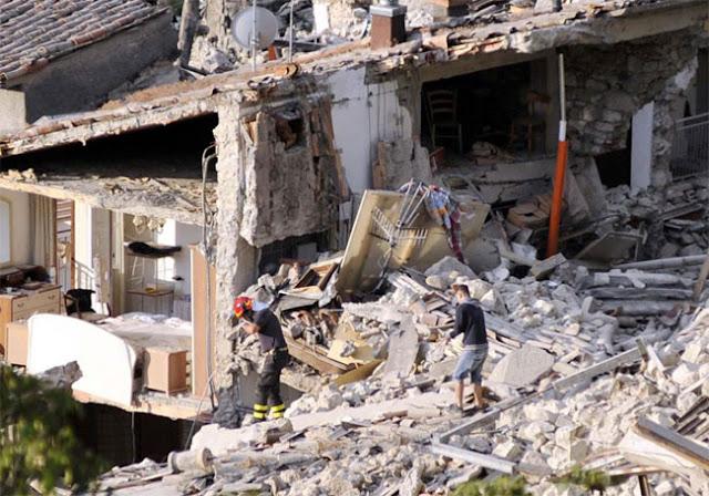 Gempa Juga Terjadi Di Italia, Sudah Tercatat 159 Meninggal Dunia Akibat Gempa