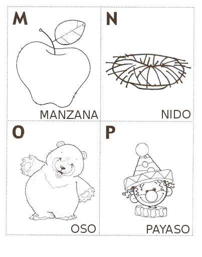 Abecedario Ilustrado Para Colorear E Imprimir Imagui