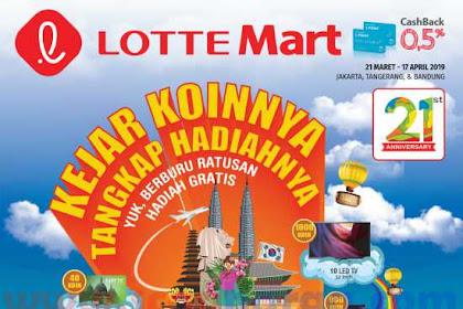 Promo Katalog LOTTEMART 21 Maret - 17 April 2019