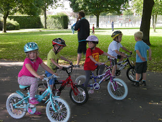 bike race in milton park
