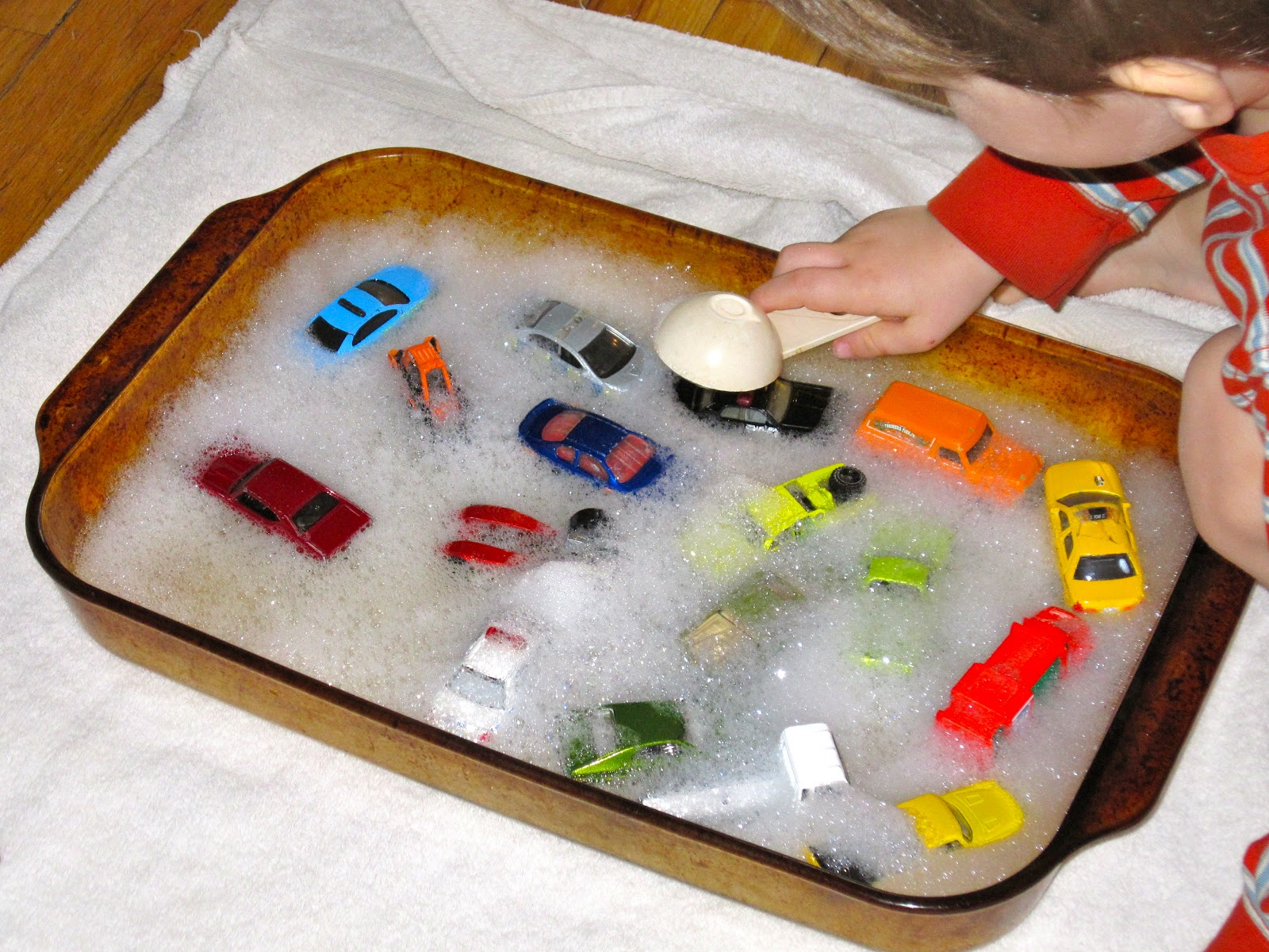 Bubble Bath Toy Car Wash For Kids