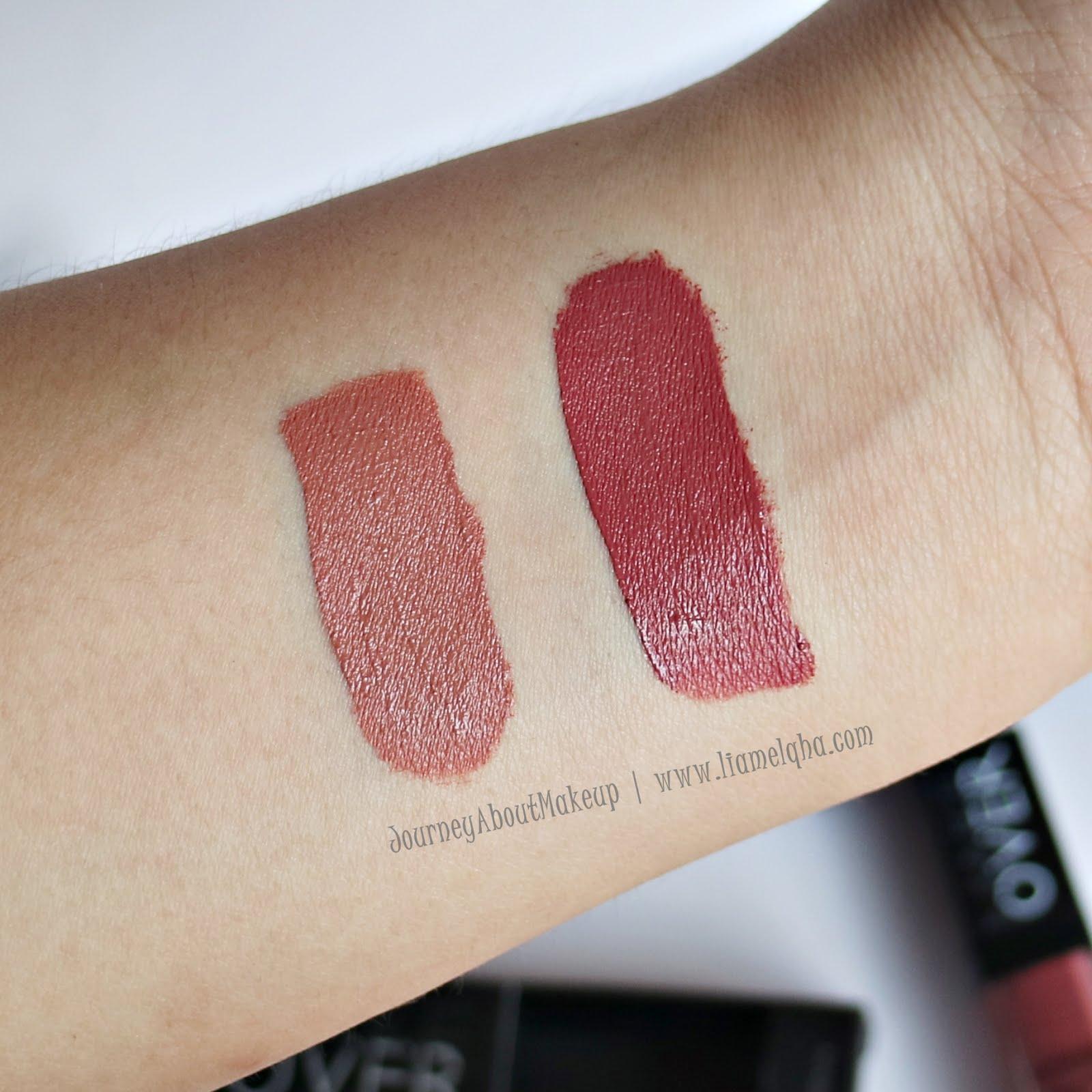 Make Over Intense Matte Lip Cream 008 Libertine 65gr Daftar Harga Lipcream Shade 003 Secret 004 Vanity