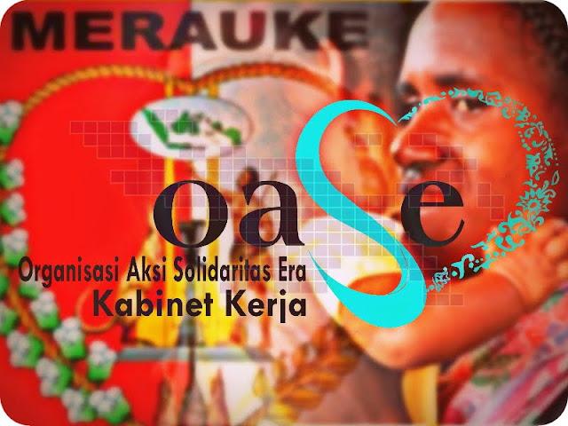 Organisasi Aksi Solidaritas Era (OASE) Kabinet Kerja Kunjungi Merauke