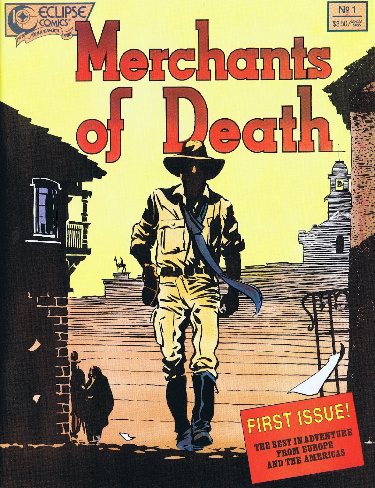 Read online Merchants of Death comic -  Issue #1 - 1